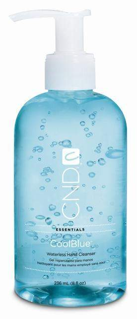 CND-Hand Sanitizer-CND CoolBlue Hand Sanitizer 8oz