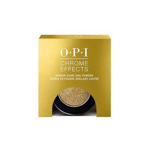 Mk Beauty Club, OPI Chrome Effects Mirror-Shine Nail Powder 3 g / 0.1 oz - CP008 Gold Digger, MkStore2109