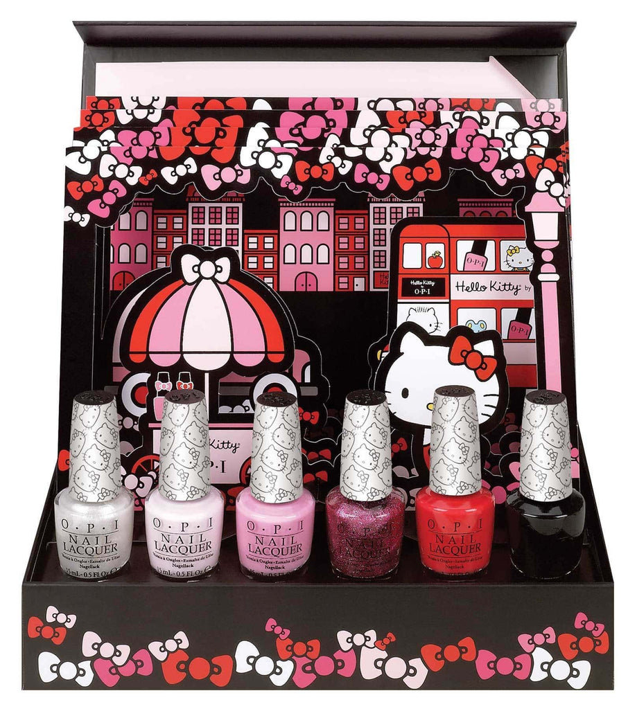 OPI Hello Kitty Collector's Edition 6pc Kit