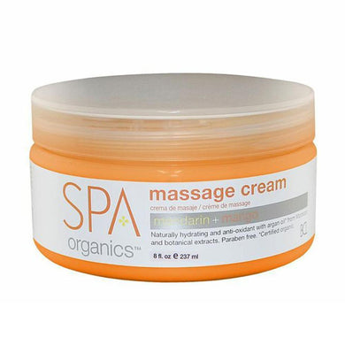 BCL SPA - Mandarin + Mango Massage Cream - 8oz
