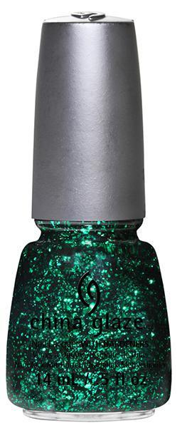 China Glaze - Graffiti Glitter - Green