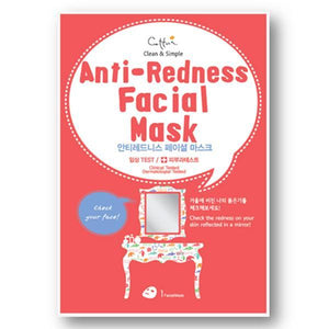 Cettua - Anti-Redness Facial Mask - 3 Sheets