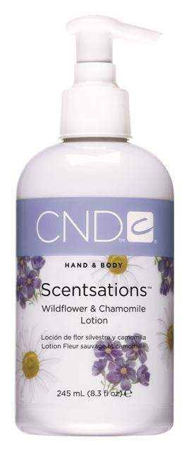 CND-Body Lotion-CND Scentsations Lotion - Wildflower & Chamomile 8.3 oz.