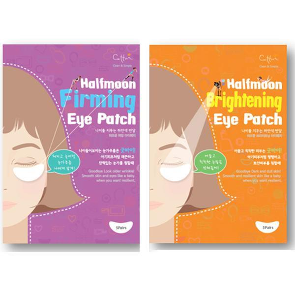 Cettua, Cettua - Half Moon Firming Under-Eye Patch + Brightening Under-Eye Patch, Mk Beauty Club, Under Eye Patch