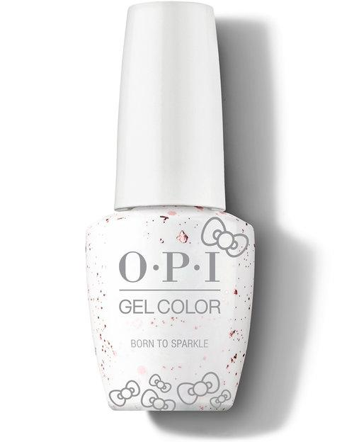 OPI, OPI GelColor - Born to Sparkle - Hello Kitty 2019, Mk Beauty Club, Gel Polish