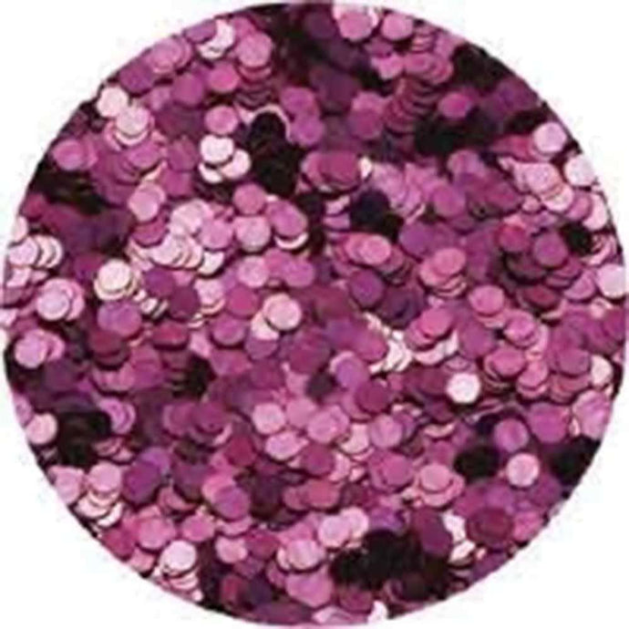 Erikonail Hologram Glitter - Metallic Pink/1mm - Jewelry Collection