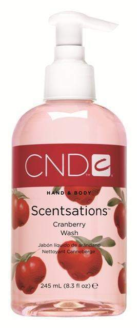 CND Scentsations Wash - Cranberry 8.3 oz.