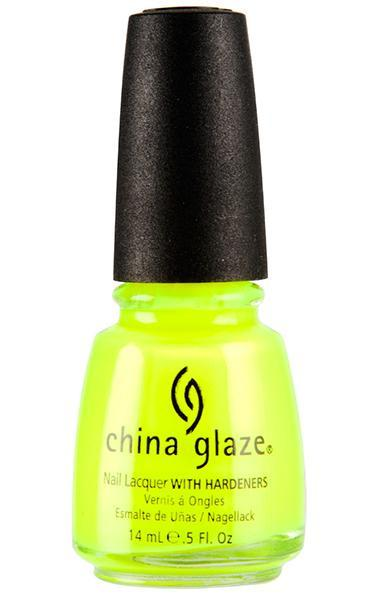 China Glaze -Yellow Polka Dot Bikini