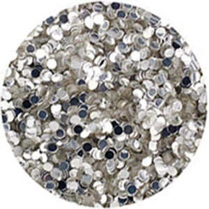 Erikonail Hologram Glitter - Silver/1mm - Jewelry Collection
