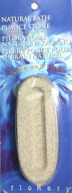 Supply, Flowery Natural Bath Pumice Stone, Mk Beauty Club, Supply