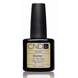 CND-Gel Polish Color-CND Shellac Top Coat Original .5oz