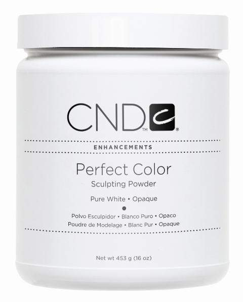 CND-Acrylic Powder-CND Sculpting Powder - Pure White Opaque Powder 16oz