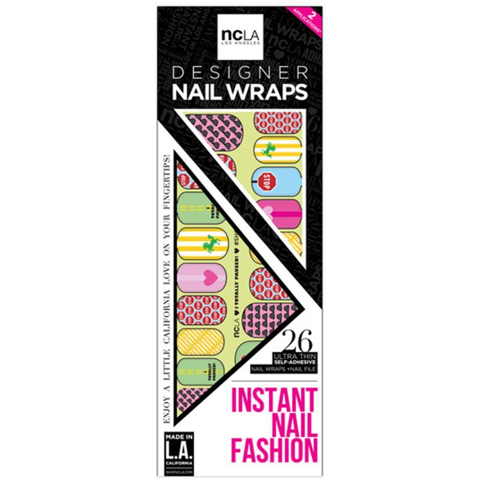 NCLA - I Totally Paused! - Nail Wraps