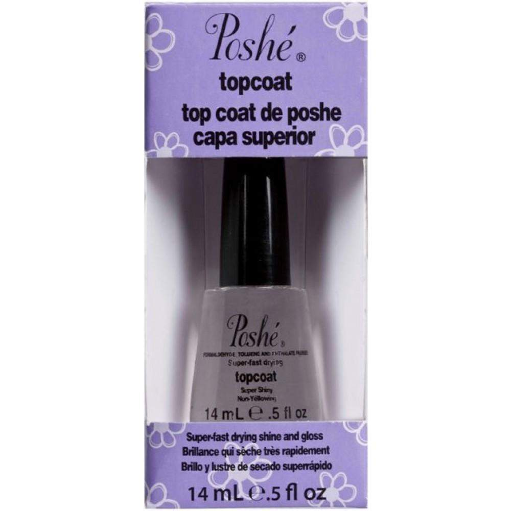 Poshe, Poshe Top Coat .5oz, Mk Beauty Club, Nail Polish Top Coat