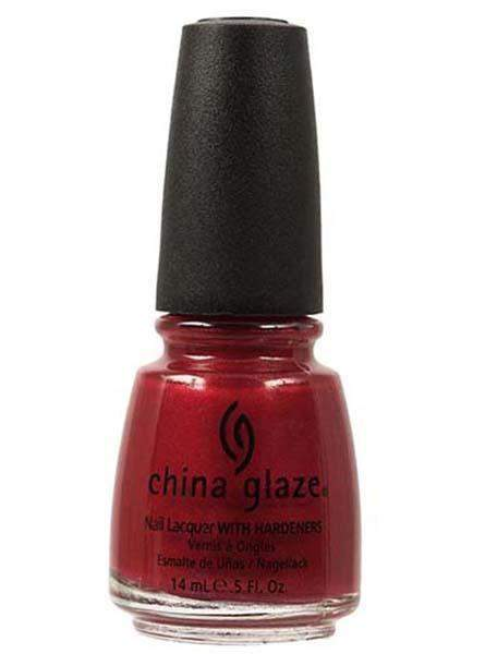 China Glaze - Go Crazy Red