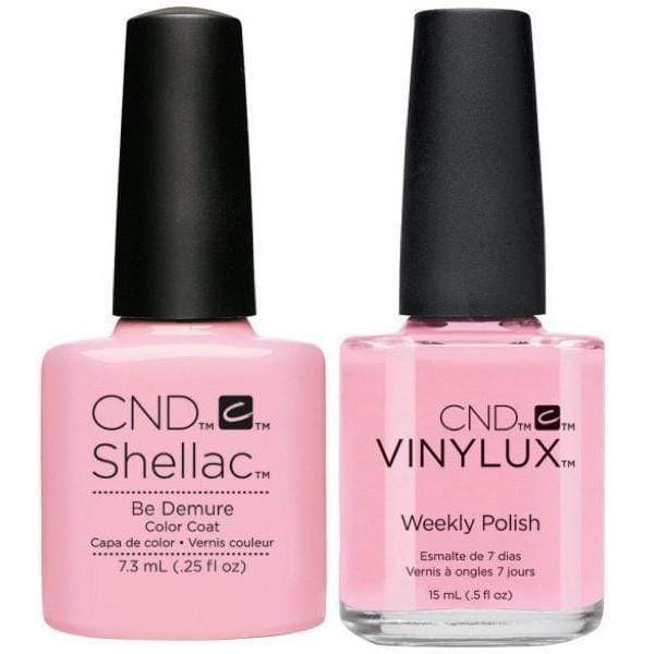 CND Shellac & Vinylux Duo - Be Demure