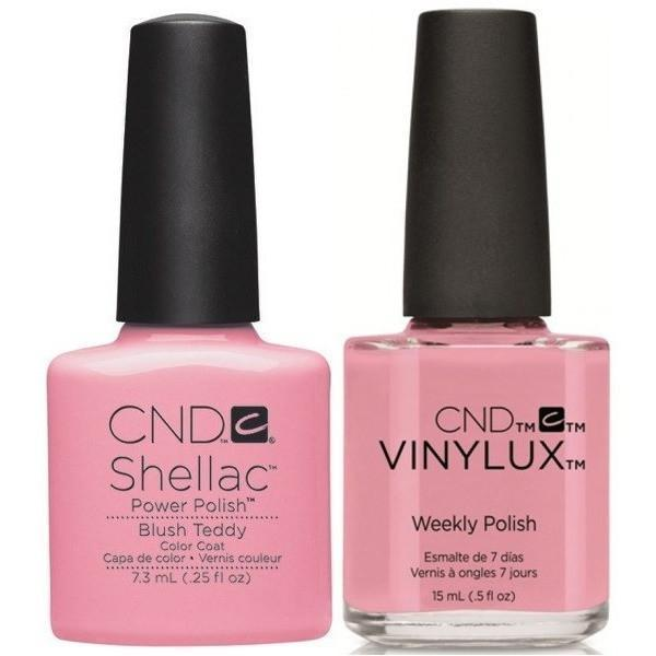 CND Shellac & Vinylux Duo - Blush Teddy