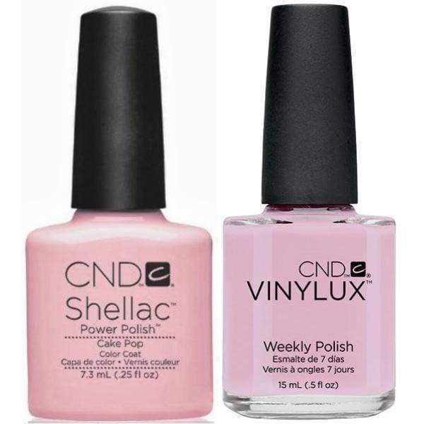 CND, CND Shellac & Vinylux Duo - Cake Pop, Mk Beauty Club, Matching Gel + Polish