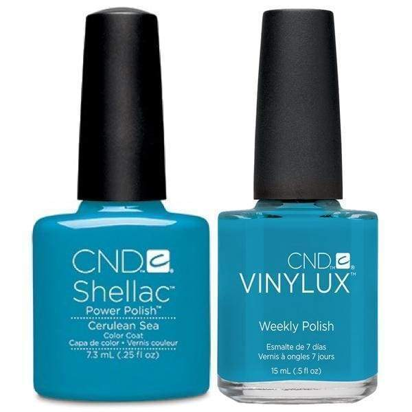 CND, CND Shellac & Vinylux Duo - Cerulean Sea, Mk Beauty Club, Matching Gel + Polish