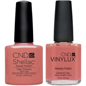 CND Shellac & Vinylux Duo - Clay Canyon