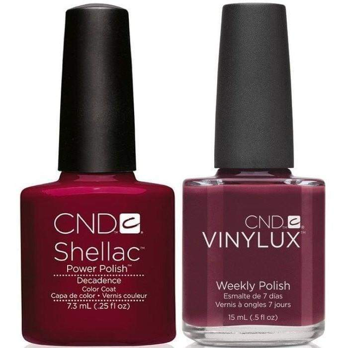 CND, CND Shellac & Vinylux Duo - Decadence, Mk Beauty Club, Matching Gel + Polish
