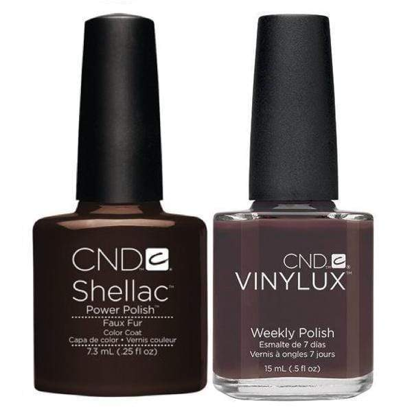 CND, CND Shellac & Vinylux Duo - Faux Fur, Mk Beauty Club, Matching Gel + Polish