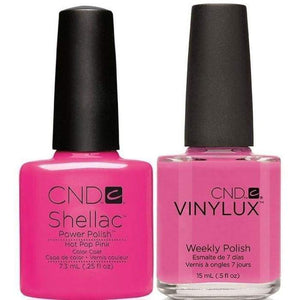 CND Shellac & Vinylux Duo - Hot Pop Pink