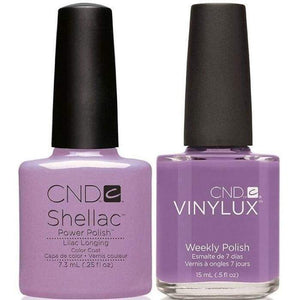 CND Shellac & Vinylux Duo - Lilac Longing