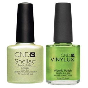 CND Shellac & Vinylux Duo - Limeade