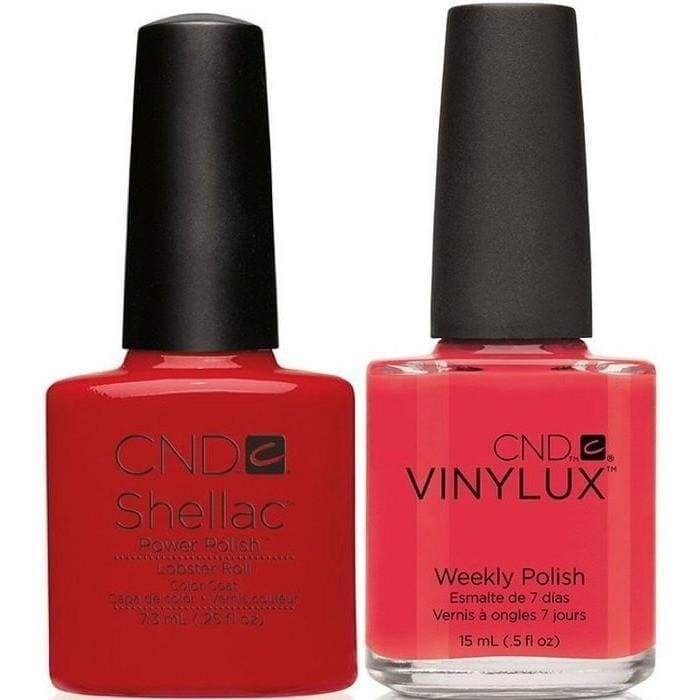 CND Shellac & Vinylux Duo - Lobster Roll