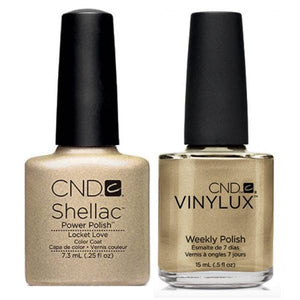 CND Shellac & Vinylux Duo - Locket Love