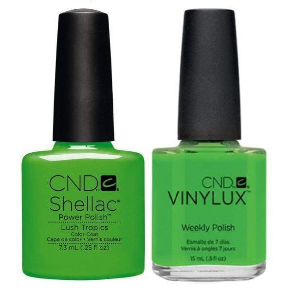 CND, CND Shellac & Vinylux Duo - Lush Tropics, Mk Beauty Club, Matching Gel + Polish