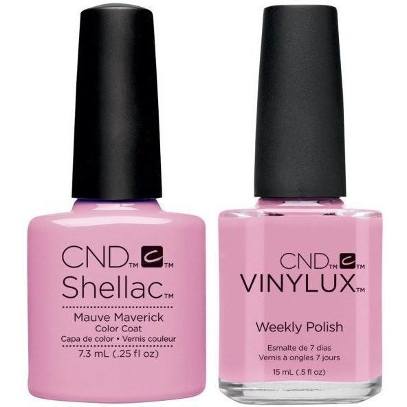 CND, CND Shellac & Vinylux Duo - Mauve Maverick, Mk Beauty Club, Matching Gel + Polish