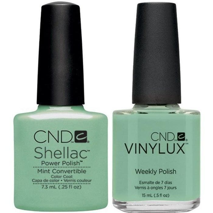 CND Shellac & Vinylux Duo - Mint Convertible