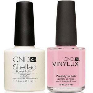 CND Shellac & Vinylux Duo - Negligee
