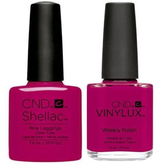 CND Shellac & Vinylux Duo - Pink Leggings