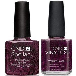 CND Shellac & Vinylux Duo - Poison Plum