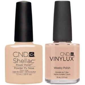 CND Shellac & Vinylux Duo - Powder My Nose