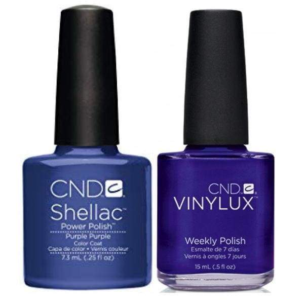 CND Shellac & Vinylux Duo - Purple Purple