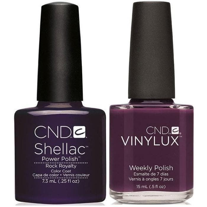 CND, CND Shellac & Vinylux Duo - Rock Royalty, Mk Beauty Club, Matching Gel + Polish