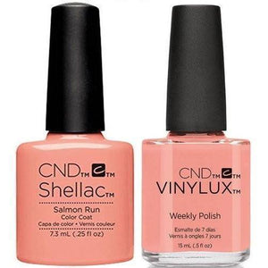 CND Shellac & Vinylux Duo - Salmon Run