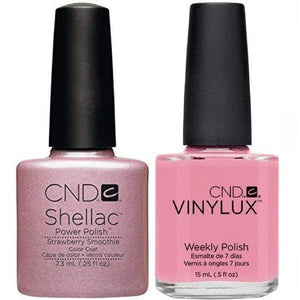 CND Shellac & Vinylux Duo - Strawberry Smoothie