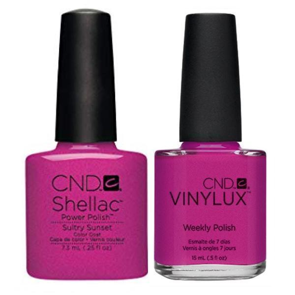 CND, CND Shellac & Vinylux Duo - Sultry Sunset, Mk Beauty Club, Matching Gel + Polish