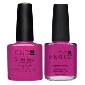 CND Shellac & Vinylux Duo - Sultry Sunset