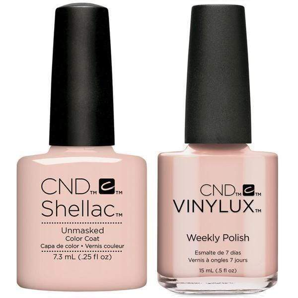 CND, CND Shellac & Vinylux Duo - Unmasked, Mk Beauty Club, Matching Gel + Polish