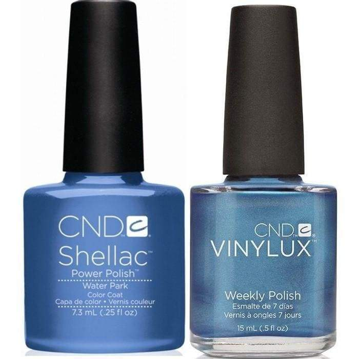 CND, CND Shellac & Vinylux Duo - Water Park, Mk Beauty Club, Matching Gel + Polish