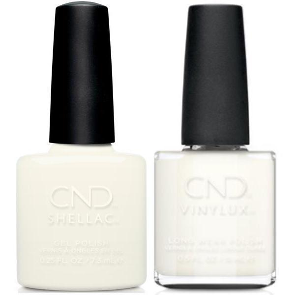 CND, CND Shellac & Vinylux Duo - White Wedding, Mk Beauty Club, Matching Gel + Polish