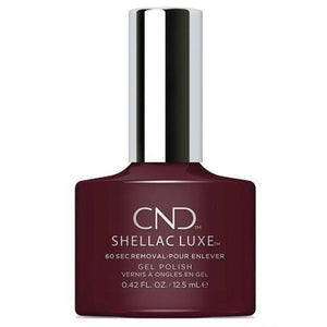 CND Luxe Gel Polish - Black Cherry