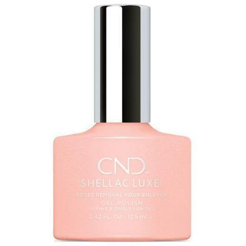CND Luxe Gel Polish - Grapefruit Sparkle