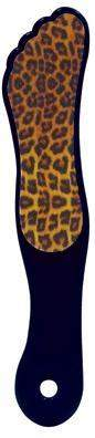 DL Professional-Supply-DL Pro - Animal Print Foot File - Cheetah